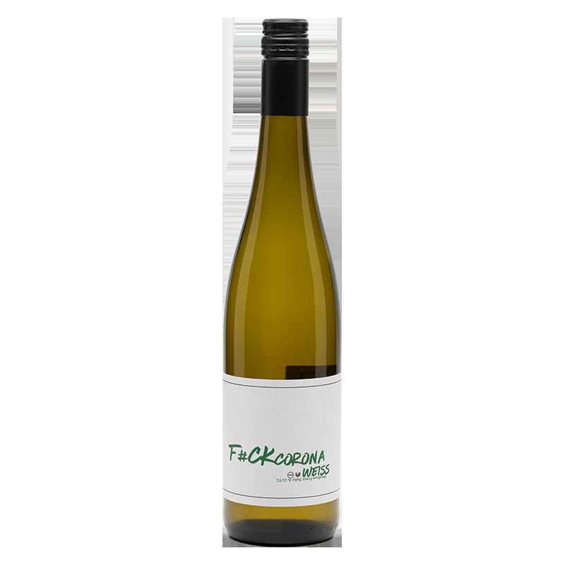 """""""F#ck Corona"""" Weißwein-Cuvée trocken"""