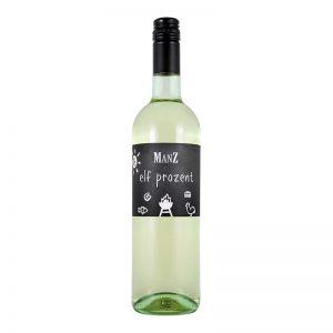 """""""Elf Prozent"""" Weißwein-Cuvée trocken - Manz - Rheinhessen"""